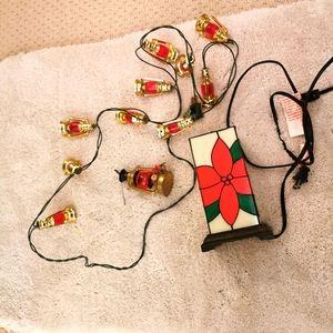 Vintage Christmas 3 pieces ornaments